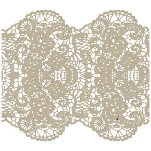 TODO-STENCIL Stencil Mini Deco Fondo 094 Puntilla Medidas exteriores: 12x12 Medidas internas diseño 10 x 10 cm