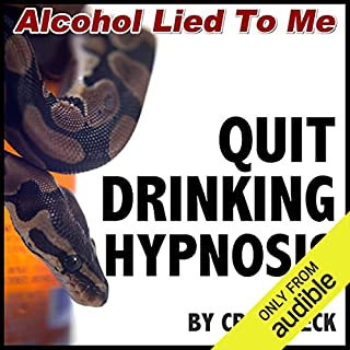 Quit Drinking Hypnosis audiobook cover art