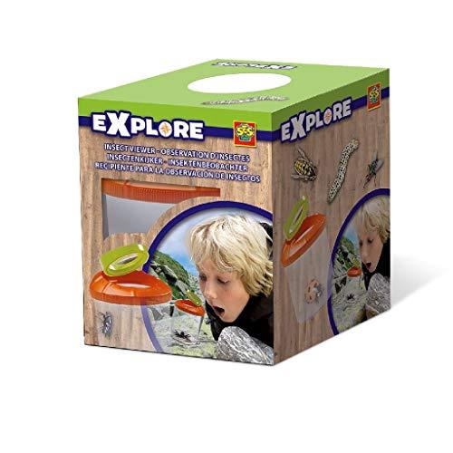 Ses- Hobby e creatività Giochi Outdoor Scoprire Istruttivo ed educativo Passatempi Teca per Osservare Gli Insetti Explore per Bambini, Colore, 25001