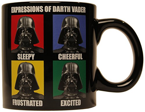 Star Wars Silver Buffalo SW7732 Darth Vader Ceramic Mug,...