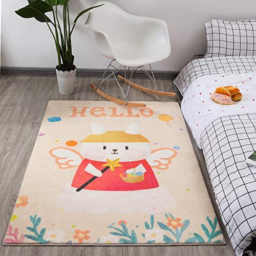 YANGWEI Schlafzimmer Teppich Einfache Nacht Teppich Zimmer Voller Großer Bodenmatte Plüsch Nach Hause