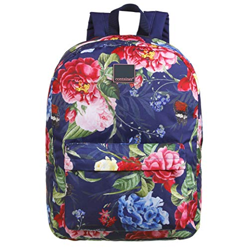 Mochila G Container Fashion Flowers, Dermiwil, 37756, Azul Floral