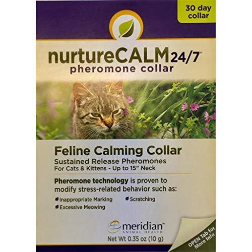 NurtureCALM 24/7 Feline Calming Pheromone Collar
