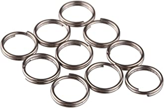 TI-EDC Split Rings Titanium Small Key Rings Pack of 10 (10mm)