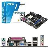 MSI NF725GM-P43 Socket AM3 GeForce 7025 DDR3 A&GbE MATX Motherboard