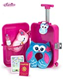 Sophia's Doll Travel Play Set 7Piece Doll Accessory Luggage Set for Your Favorite American Doll & More! Complete Doll Suitcase Travel Accessory Set