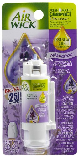 AIR WICK FRESHMATIC COMPACT i motion Automatic Spray Refill: Relaxation Lavender & Chamomile