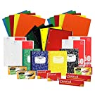Back to School Pens, Pencils, Paper Supply Bundle Box (College Ruled)