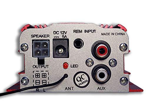 Kinter ch 2 Digital de Audio del Amplificador de Potencia de Coches en Barco en el hogar de Alta fidelidad estéreo mp3 ma-700 amp