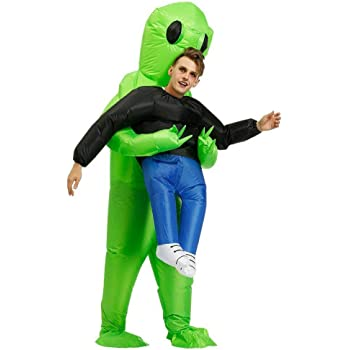 MCLseller Disfraces inflables Extraterrestres para niños Adultos ...