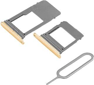 مجموعة MMOBIEL مع شريحة واحدة و1 صينية بطاقة SD متوافقة مع سامسونج جالاكسي A5 / A7 2017 (ذهبي) بما في ذلك دبوس شريحة الاتصال