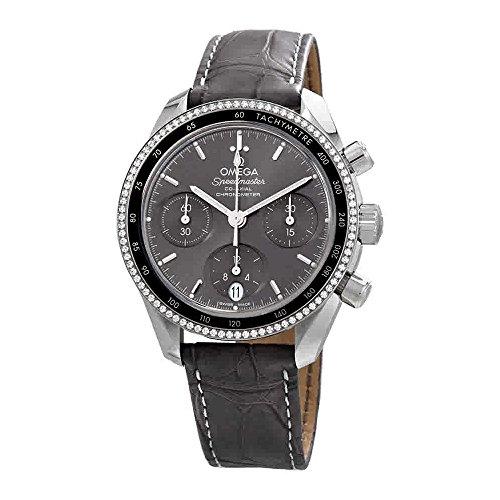 Omega Speedmaster gris Dial Automático Unisex Reloj cronógrafo 324.38.38.50.06.001