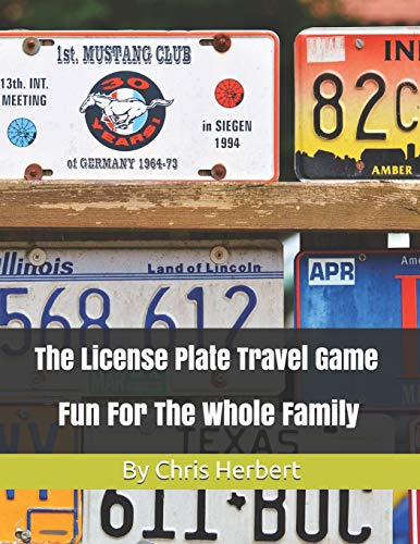 The License Plate Travel Game: Fun For The Whole Family