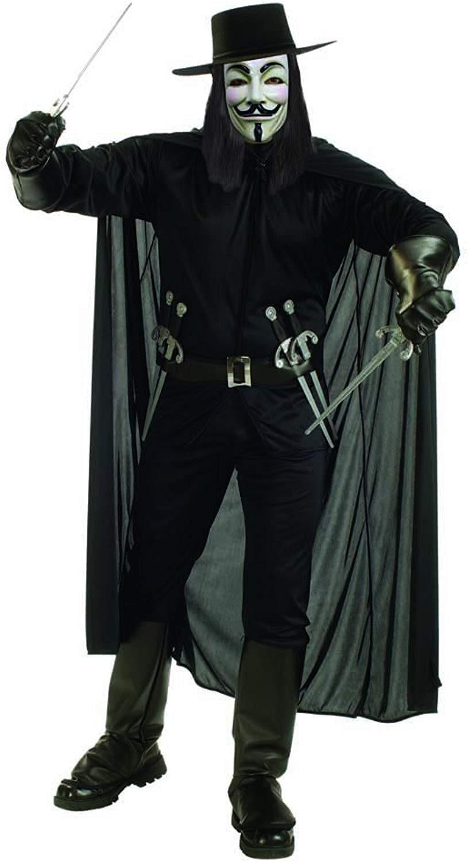 Rubie's- V per Vendetta Costume per Adulti, Xl, IT888238-XL