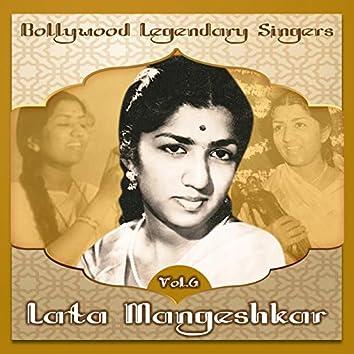 Bollywood Legendary Singers, Lata Mangeshkar, Vol. 6