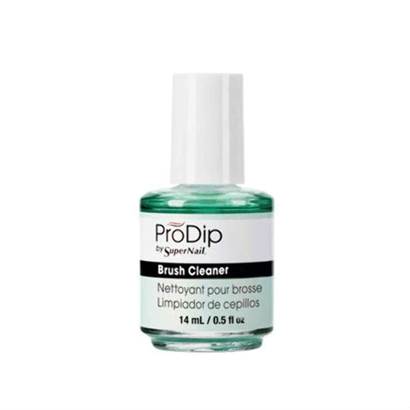 ゼロ副作詞家SuperNail ProDip - Brush Cleaner - 14 ml/0.5 oz