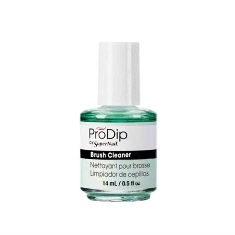 場所リー手綱SuperNail ProDip - Brush Cleaner - 14 ml/0.5 oz