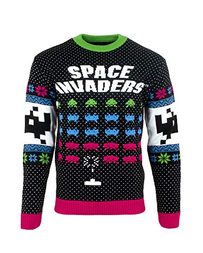 Space Invaders Unisex Ugly Christmas Sweater