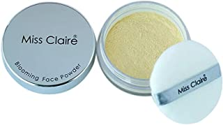 Miss Claire E-lab Blooming Loose Powder for Men and Women, 7 g (Translucent)