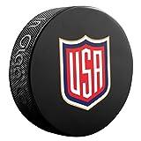 2016 World Cup of Hockey Team USA Logo Souvenir Hockey Puck