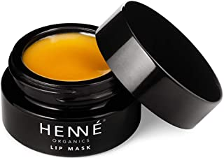 Henné Organics Lip Mask Therapy - Organic Moisturizer Treatment for Plump Lips