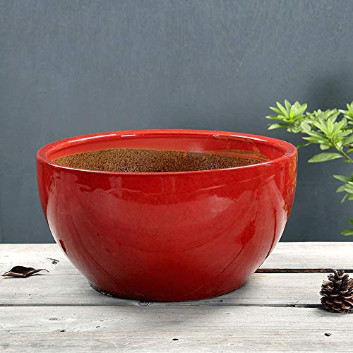 Thwarm, creatieve bloempotten, minimalistisch, vetplantaardig, hoogwaardig, bloempotten container, eenvoudige plant, met dienblad, bloempotten, L
