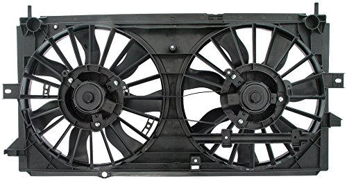 Price comparison product image Dorman 620-616 Engine Cooling Fan Assembly for Select Chevrolet Models,  Black