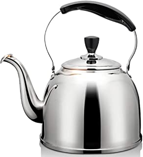 Sntsya Kettle Stainless Steel Kettle Induction Cooker Gas General Automatic Whistle Health Kettle Tea Kettle Kettle,3L
