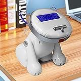 Marcus R Caveggf 12/24 Stunden Digital Smart Wecker für Schlafzimmer Kind Wie Niedliche Katze Sprechen Wecker, Rose