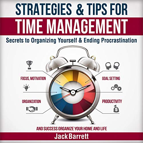 Strategies & Tips for Time Management cover art