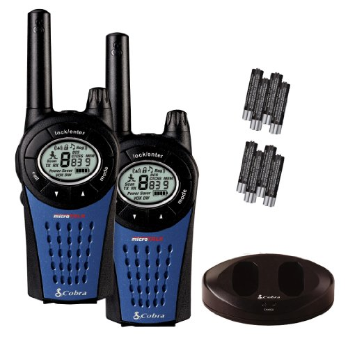 Pama MT975 - Walkie-Talkie, negro y azul