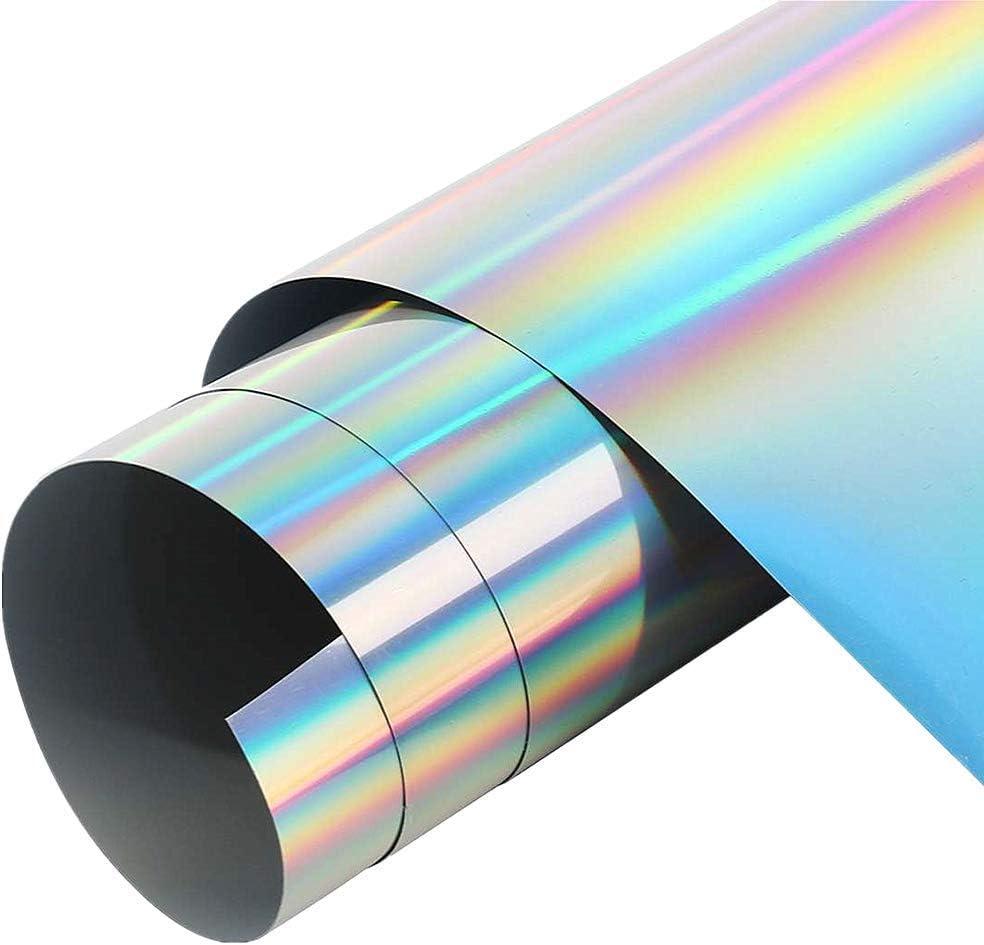 "6*60/"" Car Silver Chrome Mirror Vinyl Wrap Film Sticker Decal Sheet Bubble Free"