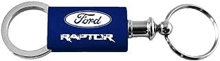 Ford Raptor F-150 Navy Valet Key Fob Authentic Logo Key Chain Key Ring Keytag Lanyard