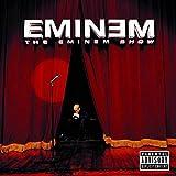 KONGQTE Eminem Music Album The Eminem Show (2002) Cover Poster Wall Art Canvas Print Painting Living Room Home decoration-24x24 inch No Frame(60x60cm