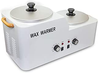 Beauty Heating Machine,Double Furnace High Low Heater Pot Wax Warmer Hair Removal Wax Thermostat Beauty Treatment Depilatory Machine