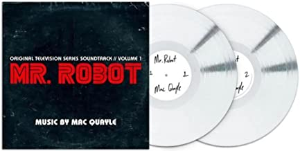MR ROBOT Soundtrack: Volume 1 Exclusive White 2XLP vinyl [vinyl] Mac Quayle