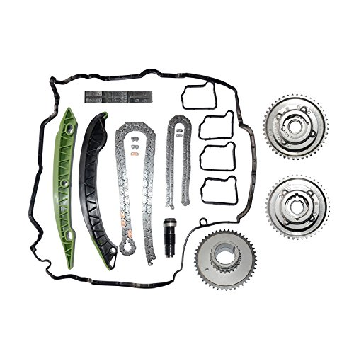 M271 Camshaft Adjusters Timing Chain Kit 2710501400 For Mercedes C250 E250 SLK250, 2710502547