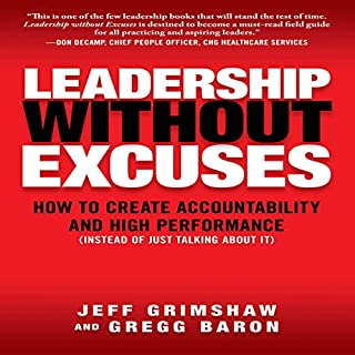 Leadership Without Excuses audiobook cover art