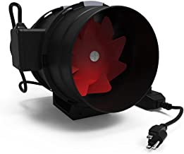 GROWNEER 8 Inch 800 CFM Inline Duct Fan with Variable Speed Controller, HVAC Mixed Flow Energy Efficient Ventilation Blower, for Air Circulation in Ducting, Vents, Grow Tents, Basements and Attics