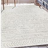 DYEWD Alfombras ultra suaves para sala de estar, alfombra de estilo marroquí simple hogar con alfombra duradera para sala de estar, sofá suave, terraza, alfombra de entrada E_140 x 200 cm