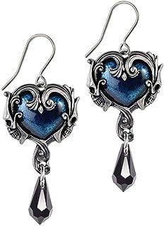 Alchemy Gothic Affaire du Coeur Drop Earrings
