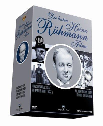 Die besten Heinz Rühmann Filme - 4 DVD Box (Das schwarze Schaf - Er kann's nicht lassen - Ich und die Kaiserin - Kleider machen Leute)
