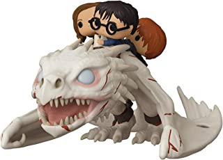 Funko Pop! Rides: Harry Potter ? Gringotts Dragón con Harry, Ron, y Hermione, Figura de vinilo