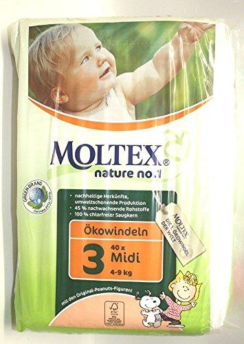 Moltex - PRI 5925 - Couches Jetables - Couches Eco 4 - 9 kg Midi - 42