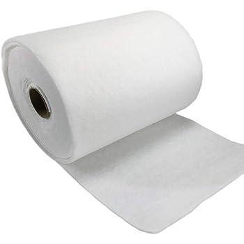 3MM 1 Rollo Filtro de Aire Blanco Algodón Filtro primario Algodón Piezas de filtración de Aire de algodón 1m x 5m: Amazon.es: Hogar