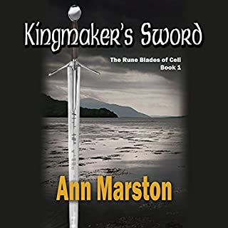 Kingmaker's Sword audiobook cover art