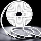 Strisce luminose al neon flessibili, striscia LED al neon con luce a corda dimmerabile impermeabile con adattatore di alimentazione e controller, perfetta per l'arredamento di interni ed esterni