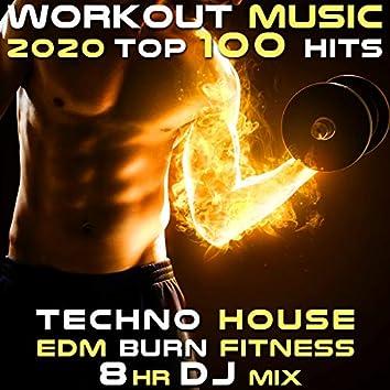 Workout Music 2020 100 Hits Techno House EDM Burn Fitness 8 Hr DJ Mix