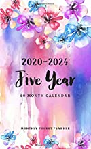 2020-2024 Monthly Pocket Planner: 5 Year Appointment Calendar | 60 Months Planner | Agenda Schedule | Organizer Notebook |Daily Planner Time Management (Personalized Pocket Planner) PDF