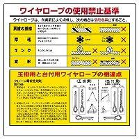 327-10 玉掛関係標識 玉掛用と台付用…